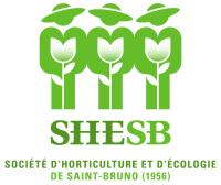 logo de la Société d'horticulture et d'écologie de Saint-Bruno (SHESB)